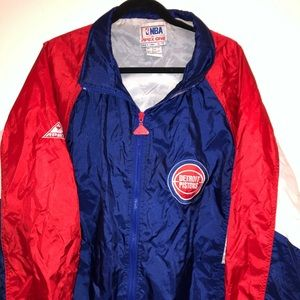 Vintage NBA pistons jacket